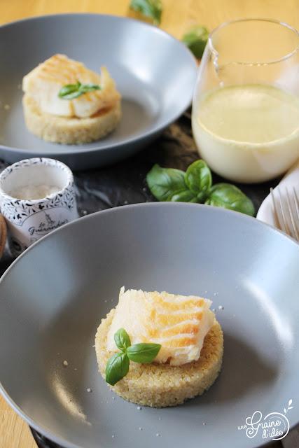Cabillaud, Quinoa, Bouillon aromatique, Degusta Box, Degustabox, Recette, Plat, Facile, Rapide, Pas chère