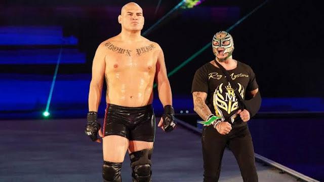 Rey Mysterio acredita que Cain Velasquez ainda terá muito potencial na WWE