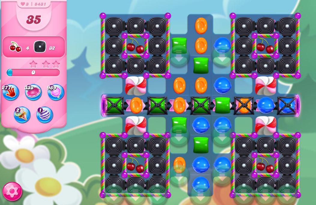Candy Crush Saga level 8431