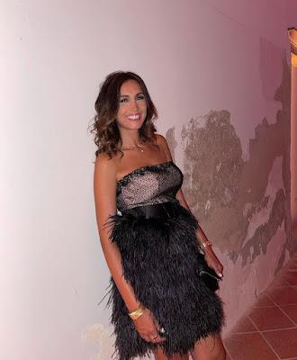 Caterina Balivo foto elegante Venezia 2 settembre 2021