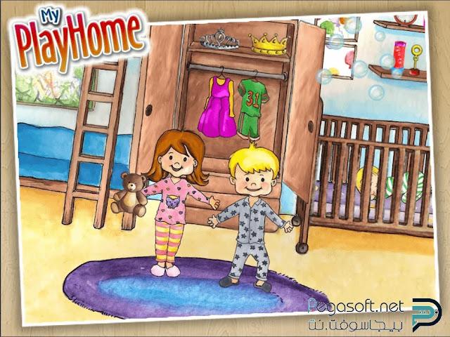 تحميل لعبة my play home مجانا