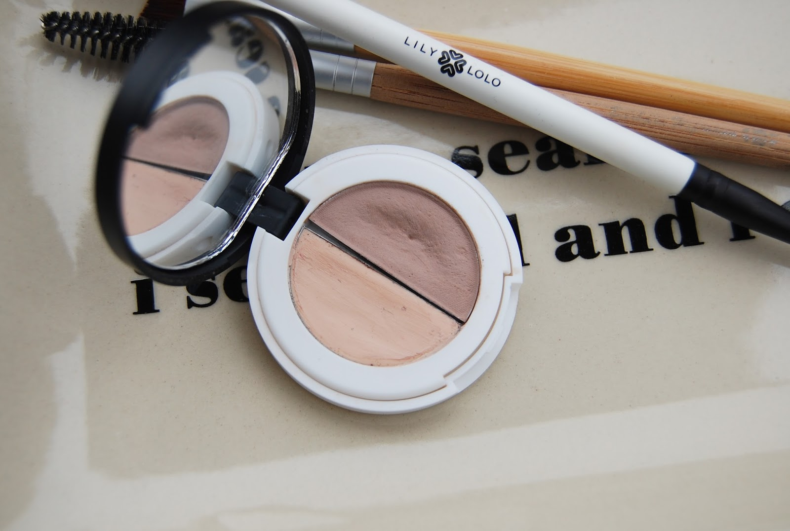 Lily Lolo Eyebrow Duo Small Bits Of Loveliness