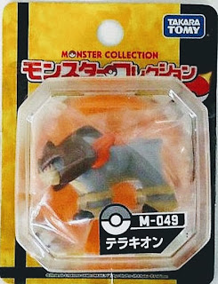 Terrakion figure Takara Tomy Monster Collection M series
