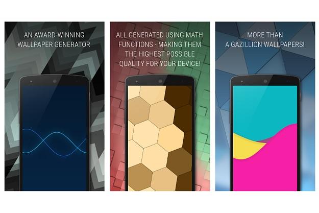 Tapet - Δημιουργήστε άπειρα wallpapers με βάση μαθηματικά μοντέλα