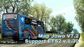 Map Jowo v7.2 ETS2