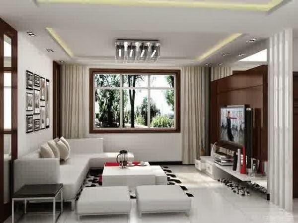 Gambar ruang keluarga minimalis yang elegan