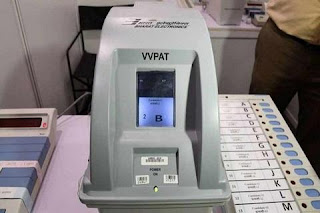 VVPAT mismatch due to machine breakdown in Andhra Pradesh