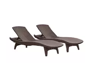 Outdoor Chaise Lounge Chairs With Wheels Executive Chair Armrest Covers Plastic Furniture