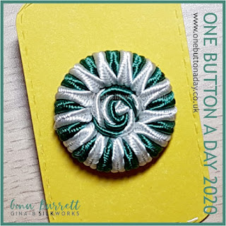 Day 296 : Rosalie - One Button a Day 2020 by Gina Barrett
