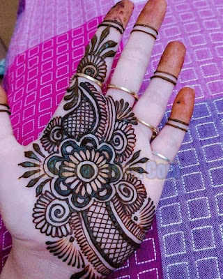 New White Hand Arabic Mehndi Designs For Eid & Marriage