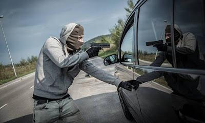 Tentativa de roubo de carro em Grandes Rios