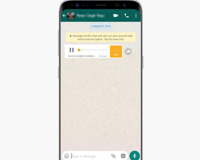 Listen Audio Secretly - WhatsApp tricks