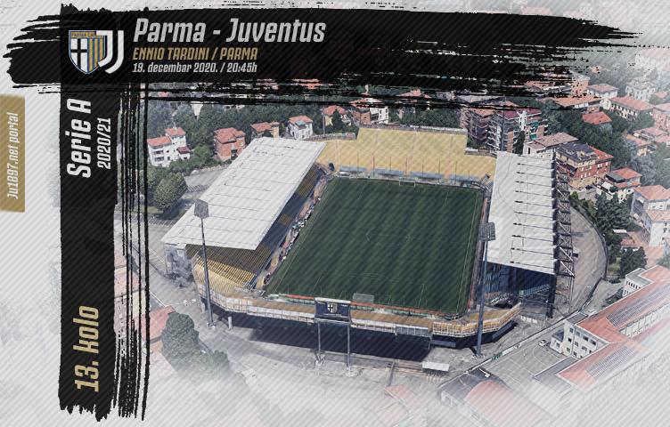 Serie A 2020/21 / 13. kolo / Parma - Juventus, subota, 20:45h