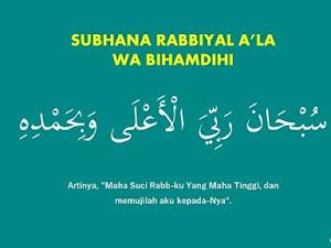 Bacaan Doa Sujud: Subhana Rabbiyal A'la Wabihamdih - Arab dan Artinya