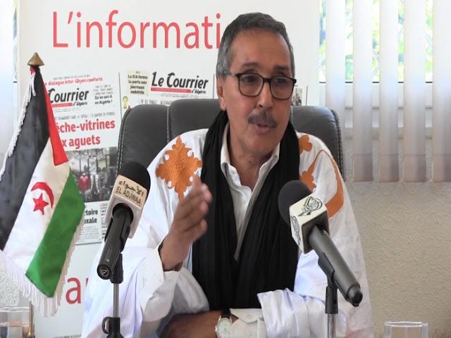 رئيس البرلمان الصحراوي ينتقد الدور السلبي الذي تلعبه فرنسا في دعم وحماية المغرب من الضغوطات ومحاولتها القفز على القانون الدولي
