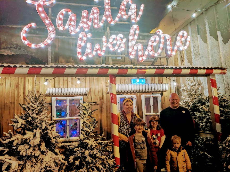 The Best Santa Experiences in North East England - Santa on the rooftop at Fenwick