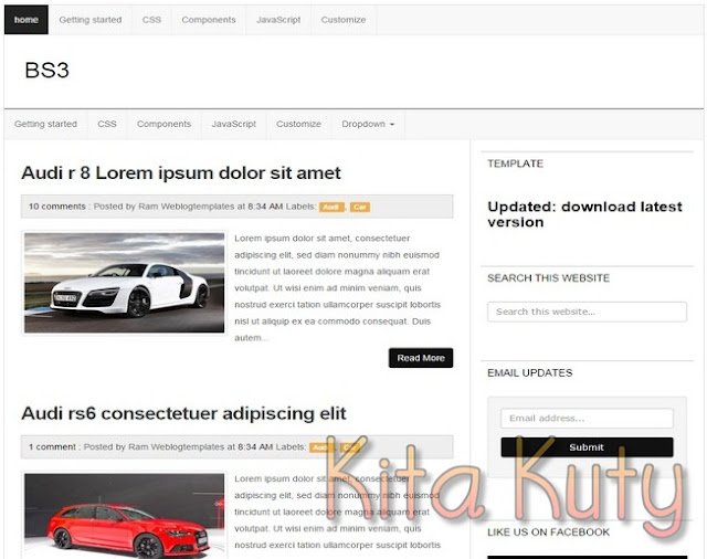 B3S Template Blogger SEO Reponsive