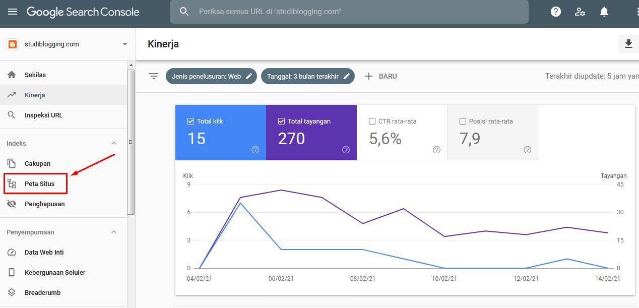 Cara Menambahkan Peta Situs Di Blog Agar Cepat Terindeks Di Mesin Pencarian Google