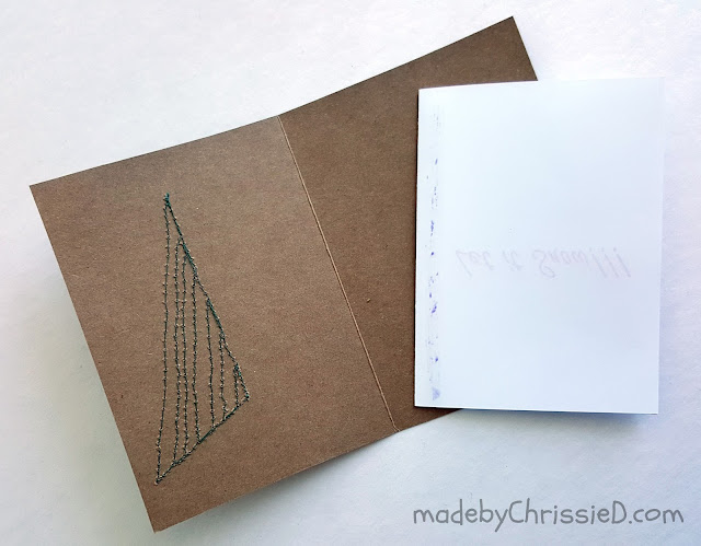 How To Make A Card Insert