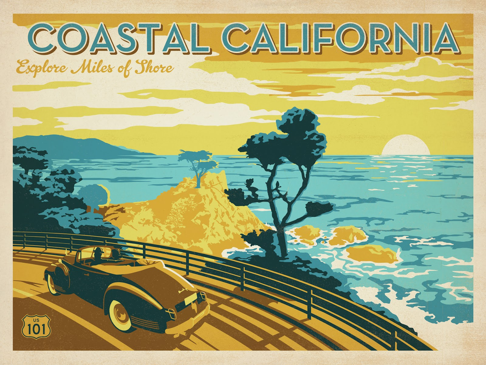 Vintage California Art 31