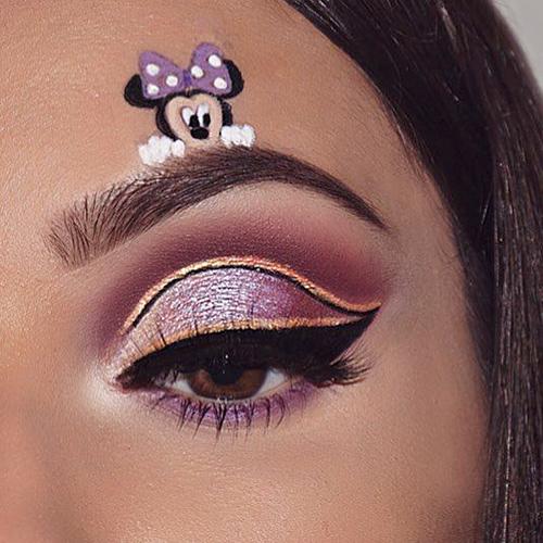 Maquillajes de ojos con dibujos para 2021