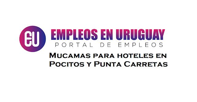 Mucamas para hoteles en Pocitos y Punta Carretas