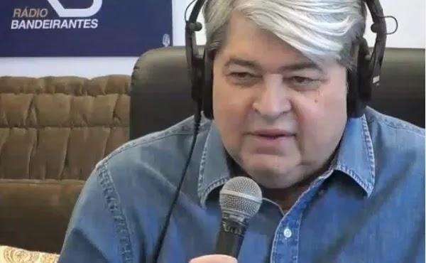 """Datena nega que esteja de saída da Band para concorrer à Presidência: """"fake news"""""""