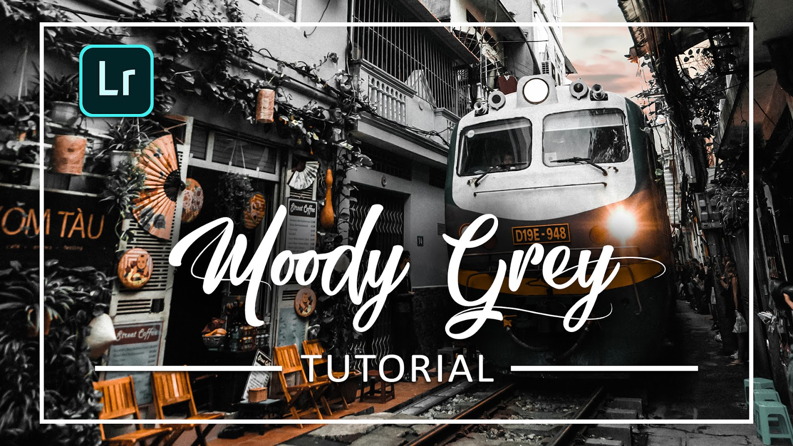 Cara Edit Foto Dengan Moody Grey Effect | Lightroom Mobile