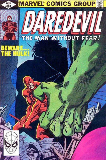Daredevil v1 #162 marvel comic book cover art by Frank Miller