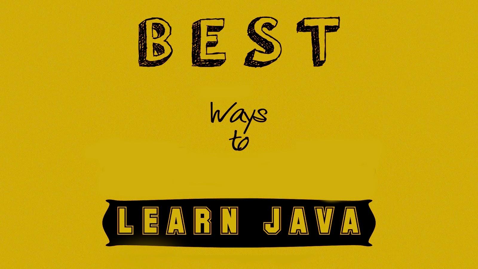 Java tutorial tech news n career java tutorial baditri Image collections