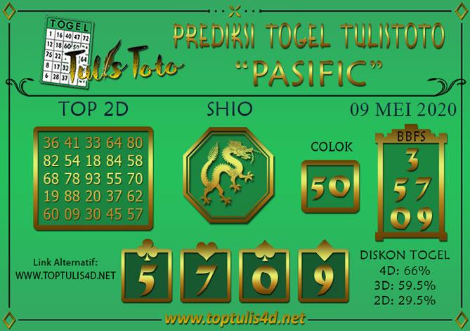 Prediksi Togel PASIFIC TULISTOTO 09 MEI 2020