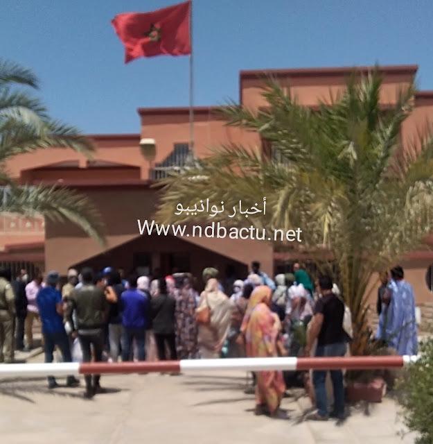 سفارة المغرب تتكفل برعاياها العالقين في نواذيبو..