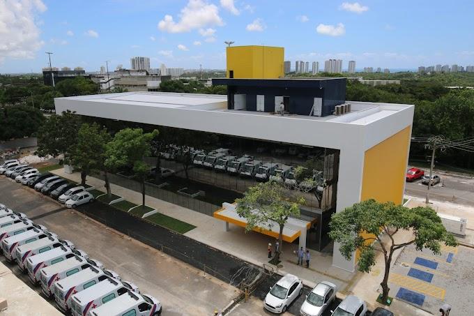 Vilas-Boas inspeciona Central Integrada de Comando e Controle da Saúde