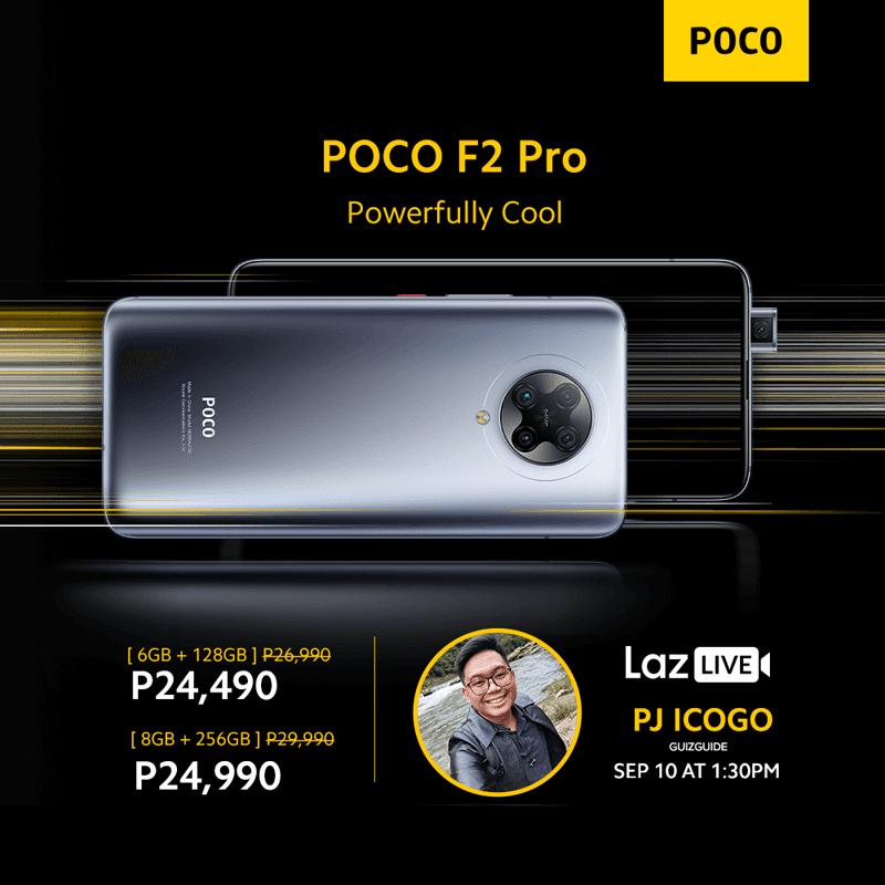 POCO F2 Pro on Lazada
