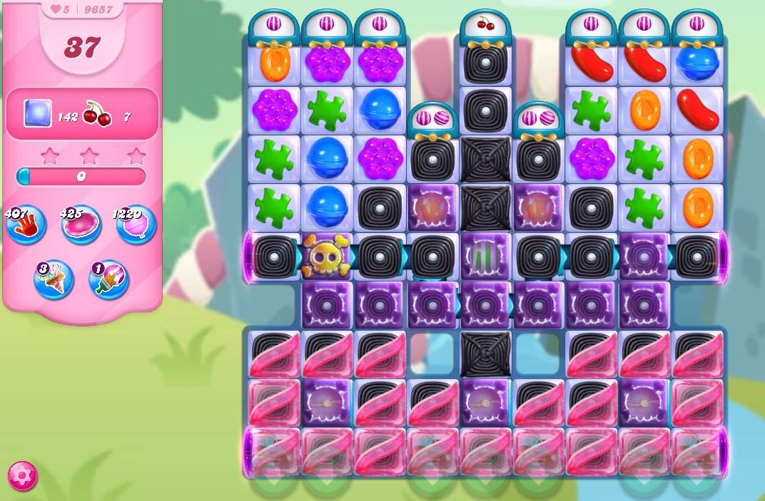 Candy Crush Saga level 9657