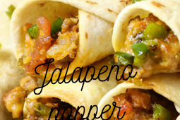 Jalapeno Popper Cheesy Taquitos #Breakfast #Appetizer