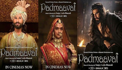 Padmavat Movie Poster