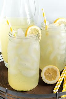 Recipe to make homemade lemonade.