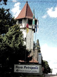Torre - Centro de Informações Turísticas de Nova Petrópolis