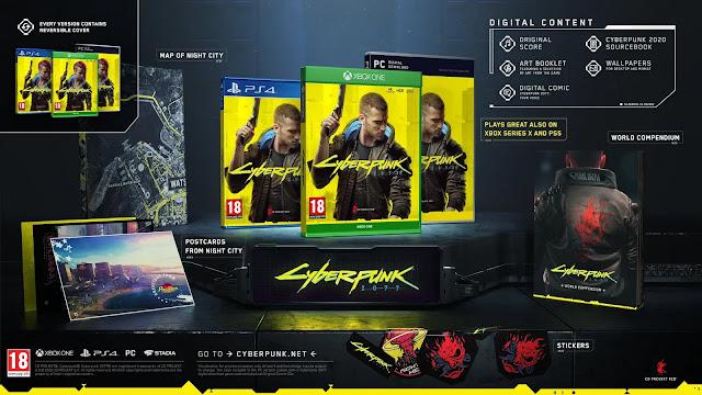 جميع نسخ لعبة Cyberpunk 2077 ستتضمن هدايا و محتويات إضافية لكافة اللاعبين