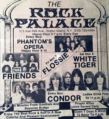 The Rock Palace... my old stomping ground... I was late for work every Monday because of Condor.