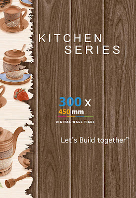 12x18 Kitchen Tiles | 12x18 Kitchen Wall Tiles with texture, color and design