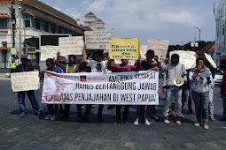 Aksi Damai FRI-West Papua & AMP Yogyakarta