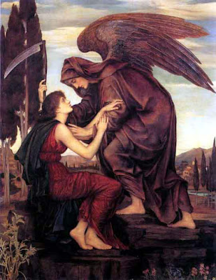 Samael, personified as the Angel of Death