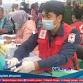 Peserta Vaksin Program PMI Jember di Desa Jubung Naik 100 persen
