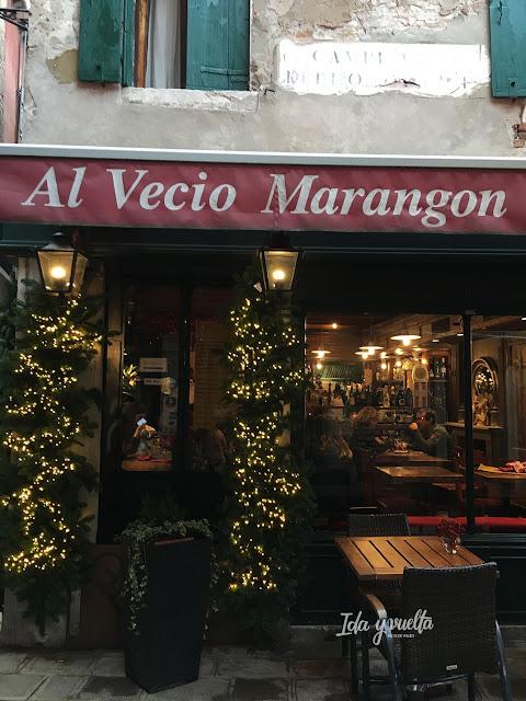 Donde comer Venecia fachada