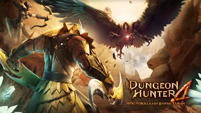 Download Game Android Gratis Dungeon Hunter 4 Offline apk + obb