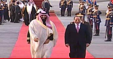 تفاصيل زيارة الرئيس السيسي وسمو الأمير محمد بن سلمان لدار الأوبرا