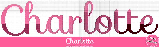 Nome Charlotte em Ponto Cruz
