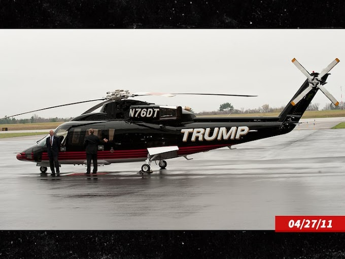 Donald Trump puts his personal helicopter up for sale